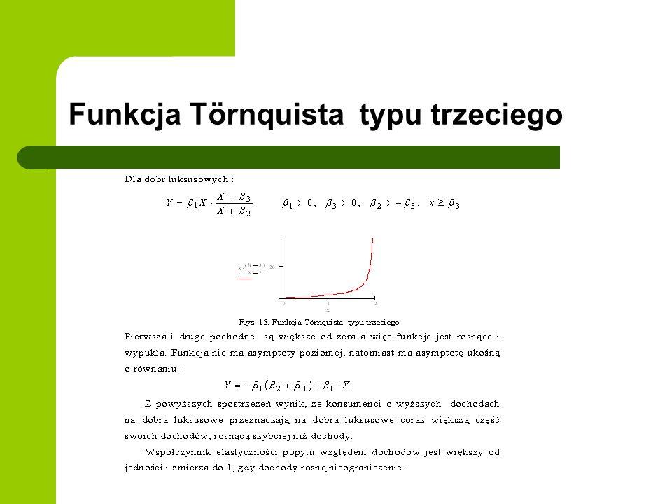Funkcja Törnquista typu trzeciego