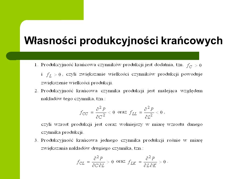 Liniowa funkcja kosztów całkowitych i hiperboliczna funkcja kosztów jednostkowych