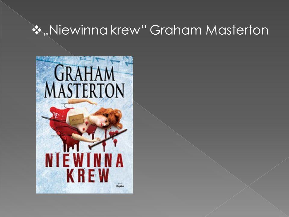 " ""Niewinna krew"" Graham Masterton"