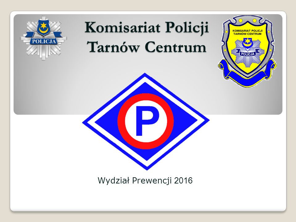 KOMISARIAT POLICJI TARNÓW CENTRUM Zasięgiem obejmuje teren części miasta Tarnów, 8 miejscowości gminy Tarnów oraz gminy; Lisia Góra i Skrzyszów.