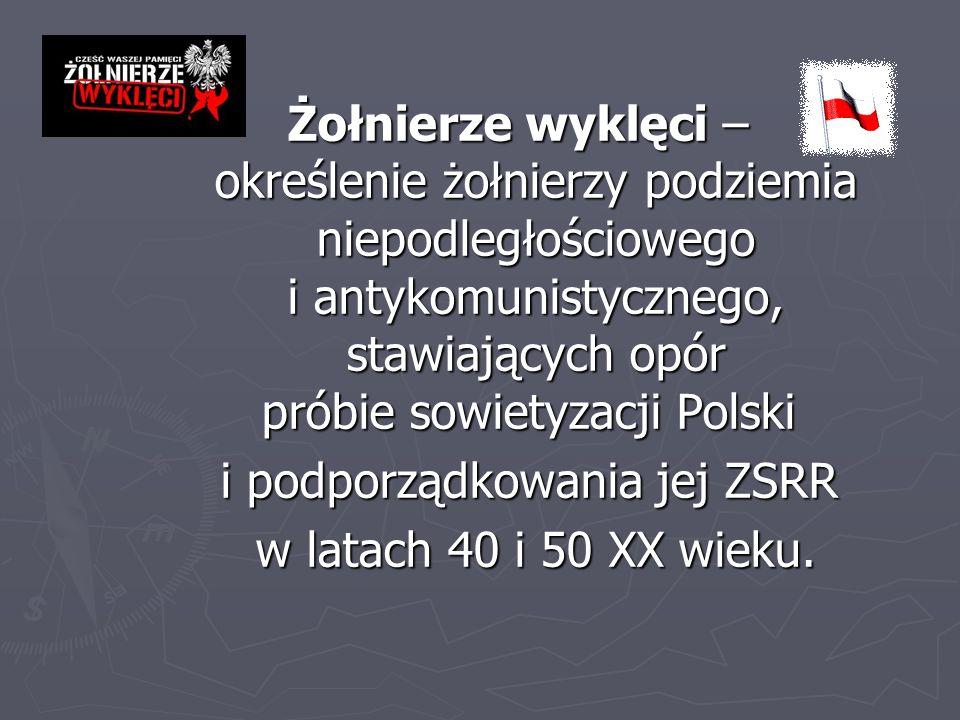 Narodowy Dzień Pamięci Żołnierzy Wyklętych to polskie święto państwowe obchodzone corocznie 1 marca, ustanowione na mocy ustawy z dnia 3 lutego 2011 roku.