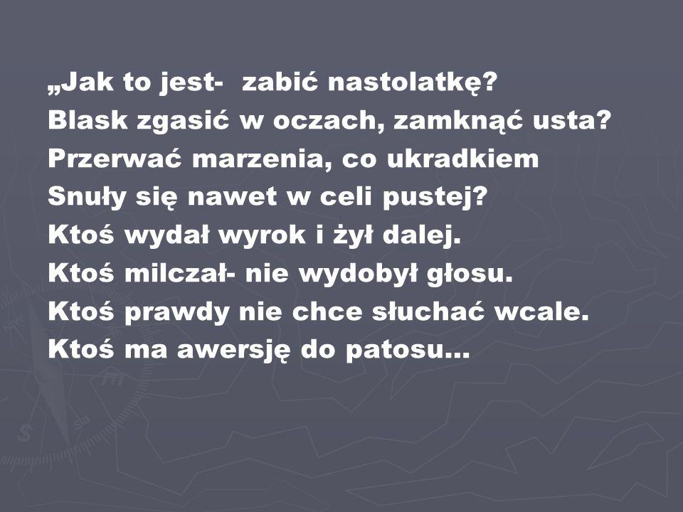 """""""Przysięgam Panu Bogu w wierności Polsce trwać.Na mej ojczyzny progu w walecznym szyku stać."""