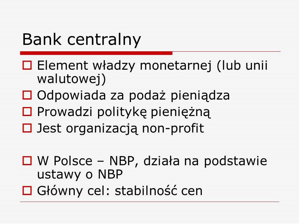 Banki komercyjne  Przedsiębiorstwa  Nastawione na maksymalizację zysku  Działają w obszarze podwyższonego ryzyka  Podlegają prawu bankowemu  Główny cel: zysk