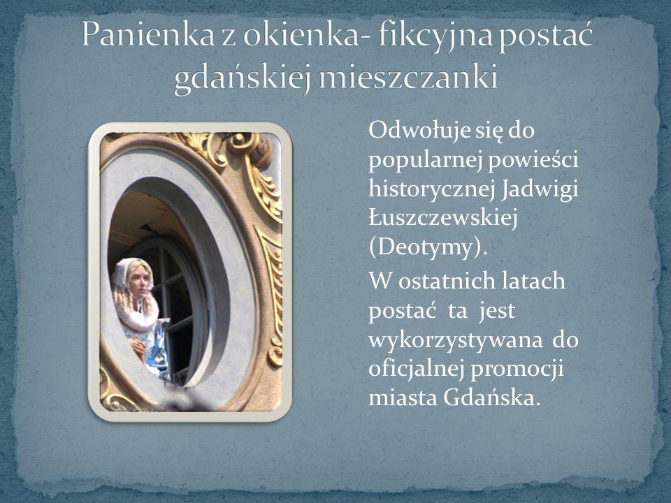 Odwołuje się do popularnej powieści historycznej Jadwigi Łuszczewskiej (Deotymy).