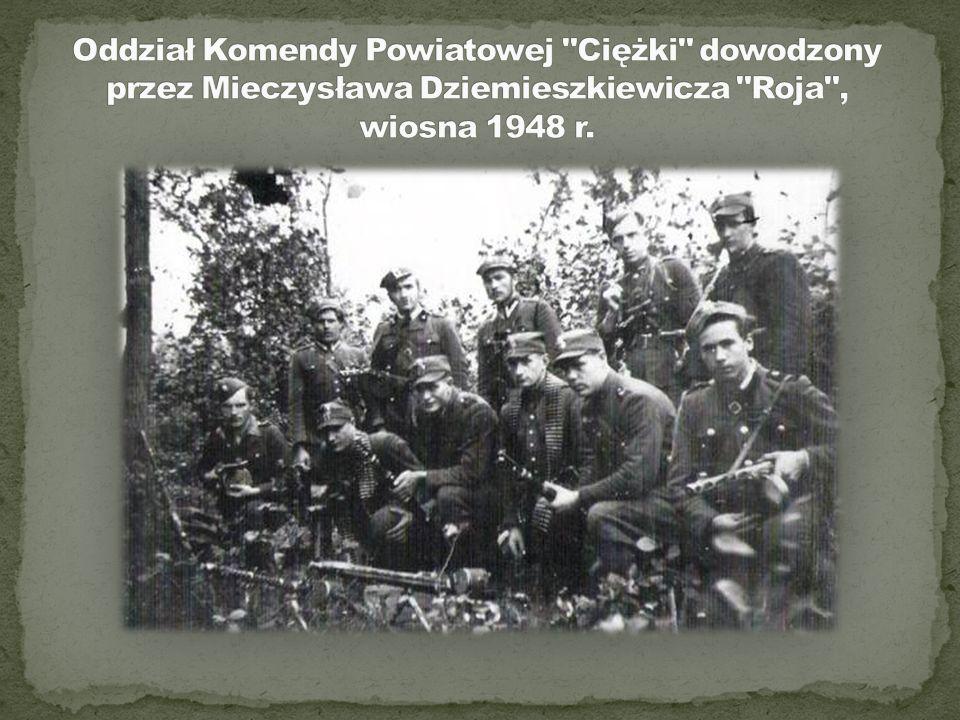 """8 czerwca 1947 roku w miejscowości Strusin powiat Ciechanów patrol """"Roja"""" wykonał wyrok na sekretarzu Komitetu Gminnego PPR w Sońsku. Sekretarz ten by"""