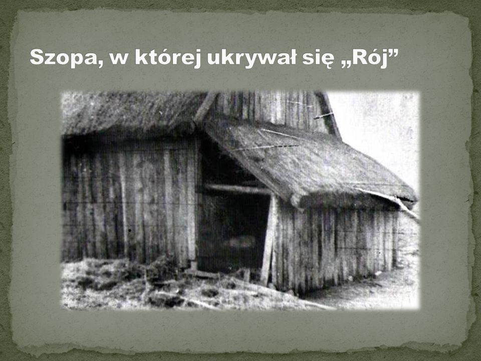 Gospodarstwo Burkackich w kolonii Szyszki, ostatnie miejsce schronienia Mieczysława Dziemieszkiewicza Roja i Bronisława Gniazdowskiego Mazura .