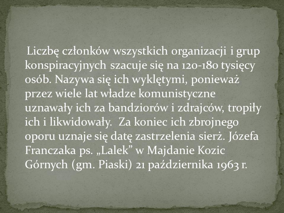 Żołnierze wyklęci po zakończeniu II wojny światowej kontynuowali dzieło Armii Krajowej, która walczyła z okupantem, wówczas hitlerowskim. Brali udział