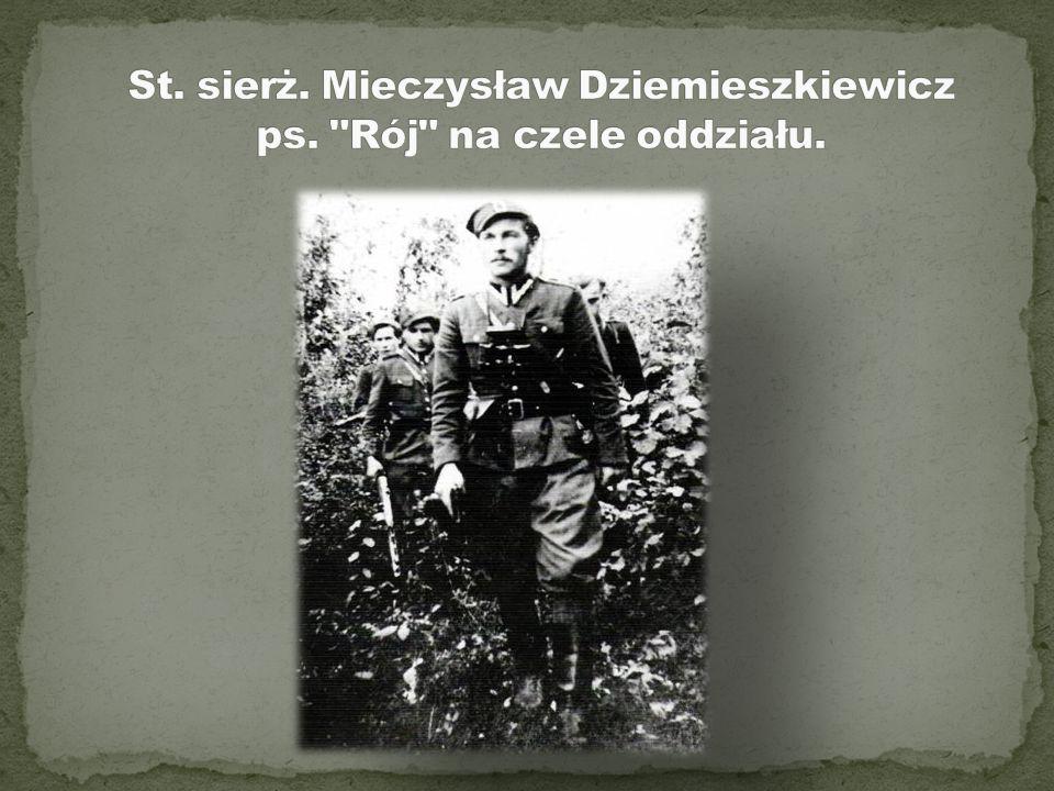 """nieprzymuszoną """"Walkę o Wielką Polskę uważam za największy swój obowiązek. Wstępując w szeregi NZW, mam szczerą i nieprzymuszoną wolę. Wpierw zginę, a"""