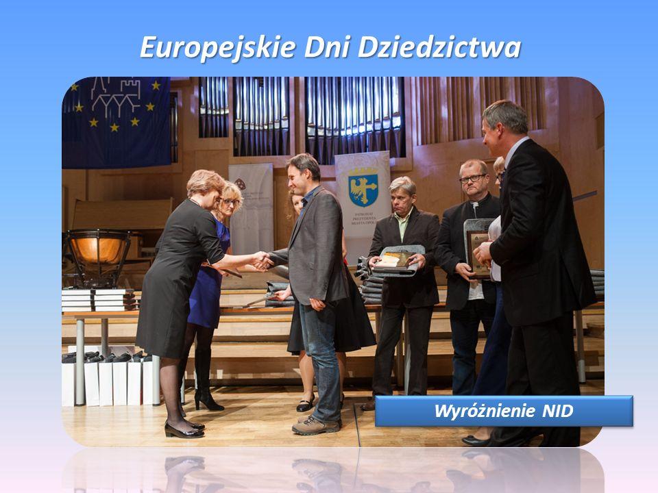 Europejskie Dni Dziedzictwa Wyróżnienie NID
