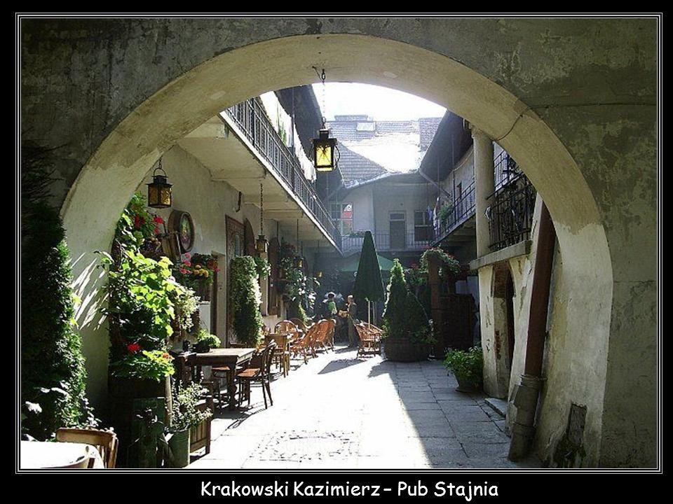 Krakowski Kazimierz – Pub Stajnia - jedno z wielu uroczych miejsc