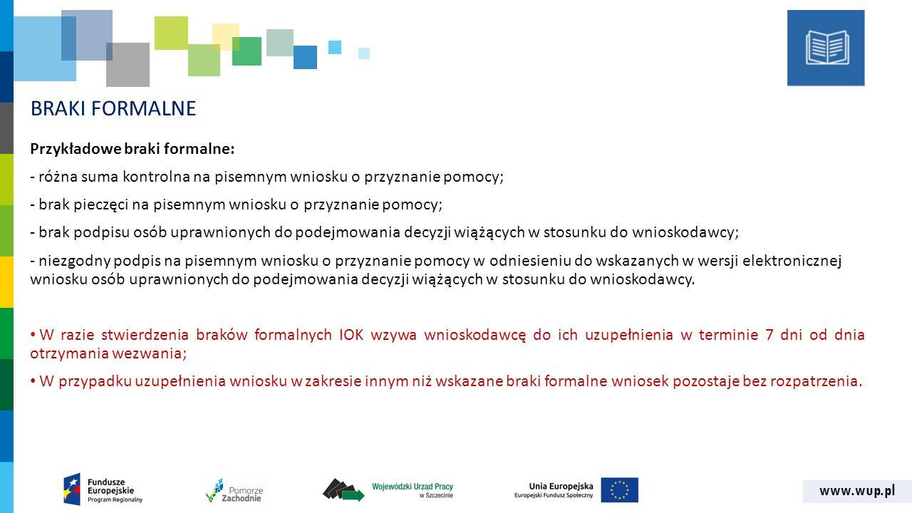 www.wup.pl KRYTERIA STRATEGICZNE 1.