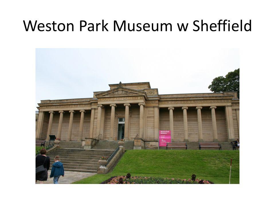 Weston Park Museum w Sheffield