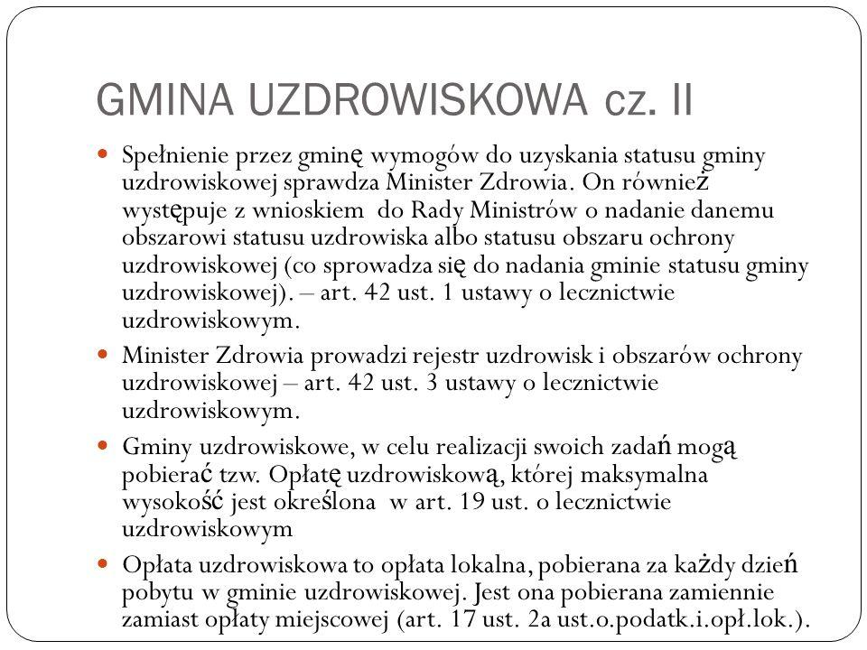 GMINA UZDROWISKOWA cz.