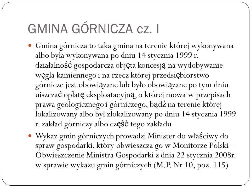 GMINA GÓRNICZA cz.
