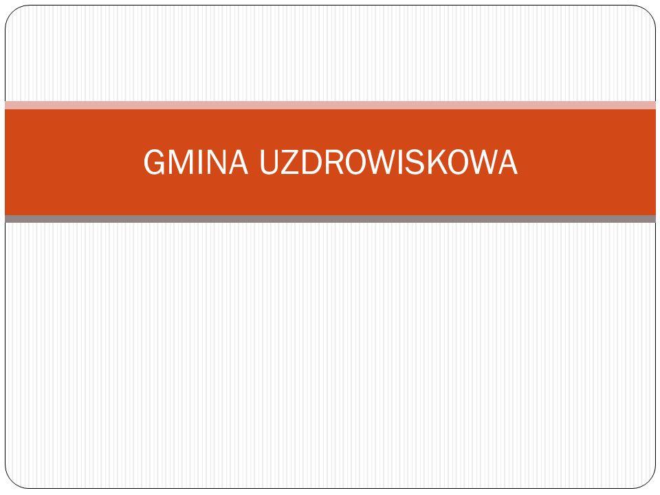 GMINA UZDROWISKOWA