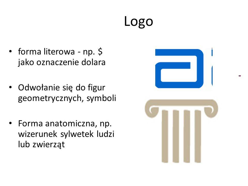 Znak graficzny marki To niewerbalna strona oferty.