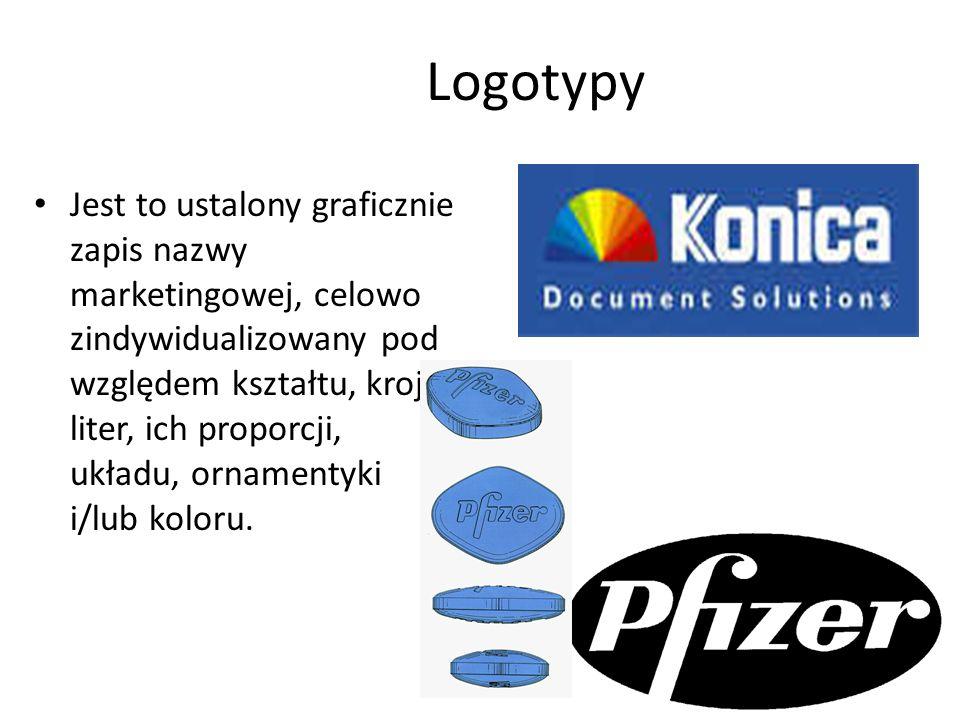 Logo forma literowa - np.