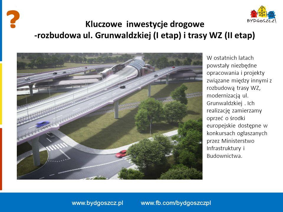 Kluczowe inwestycje drogowe -rozbudowa ul.
