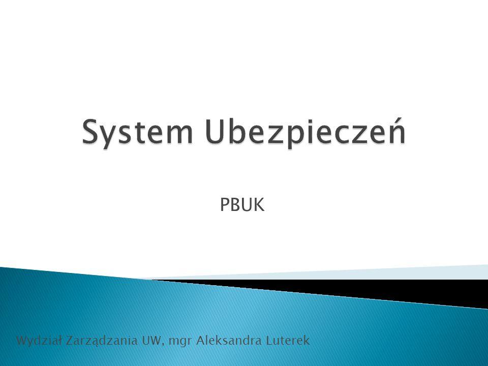 PBUK Wydział Zarządzania UW, mgr Aleksandra Luterek