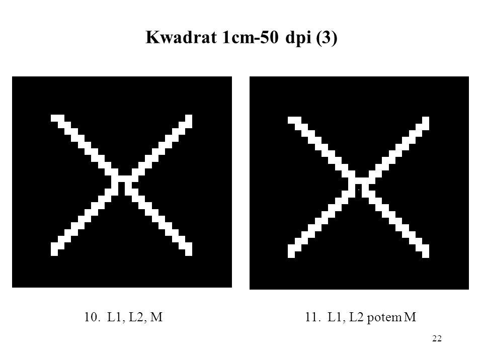 22 Kwadrat 1cm-50 dpi (3) 11. L1, L2 potem M10. L1, L2, M