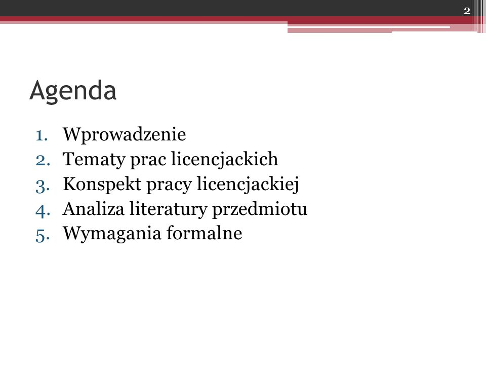 Zasady:  Wyodrębnienie publikacji, do których Autor dotarł i do których zamierza dotrzeć (inny kolor)  Alfabetyczna prezentacja publikacji  Można podzielić publikacje na różne grupy (jeśli jest ich sporo)  Jednolity wzorzec przedstawiania publikacji  Dostosowanie opisu publikacji w bibliografii do przypisów Literatura 2 53