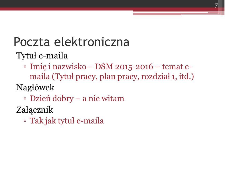 Podawanie liczb Pisz liczby po polsku, a nie po anglosasku ▫Dobrze: 105.249,15 ▫Źle: 105,249.15 Unikaj w tekście liczb ze zbyt dużą ilością cyfr po przecinku W tabelach jest to dopuszczalne ▫ale też nie wolno przesadzać 98