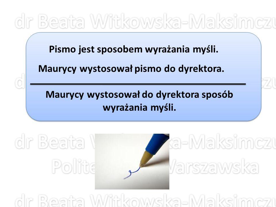 Błędne zestawienie słów pojawia się, gdy w danej wypowiedzi sensy poszczególnych składników wykluczają się.