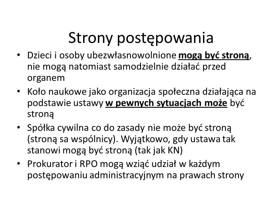 Dokumenty urzędowe Art.76. KPA § 1.