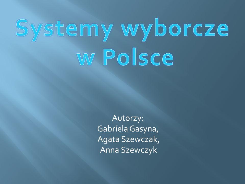  Ordynacja wyborcza (system wyborczy) ustala sposób głosowania oraz kandydowania we wszelkich wyborach.