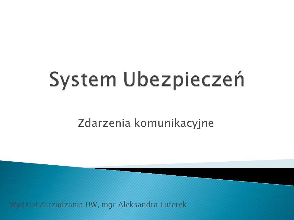 Zdarzenia komunikacyjne Wydział Zarządzania UW, mgr Aleksandra Luterek