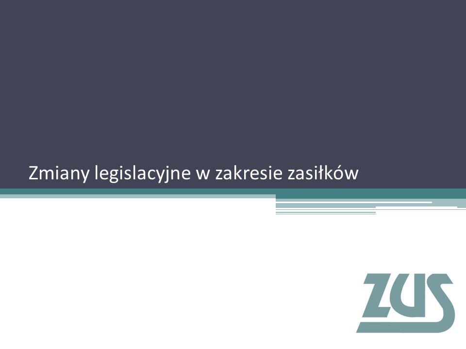 Zmiany legislacyjne wprowadzone ustawami: √ z dnia 15 maja 2015 r.
