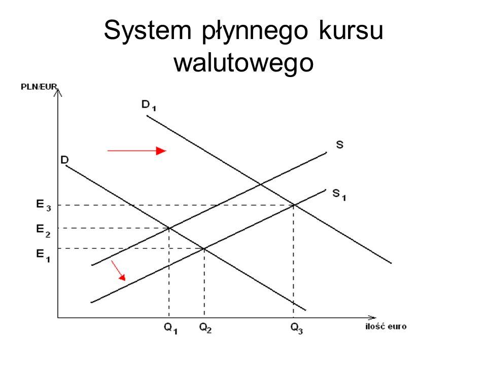 System płynnego kursu walutowego