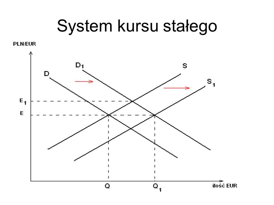 System kursu stałego