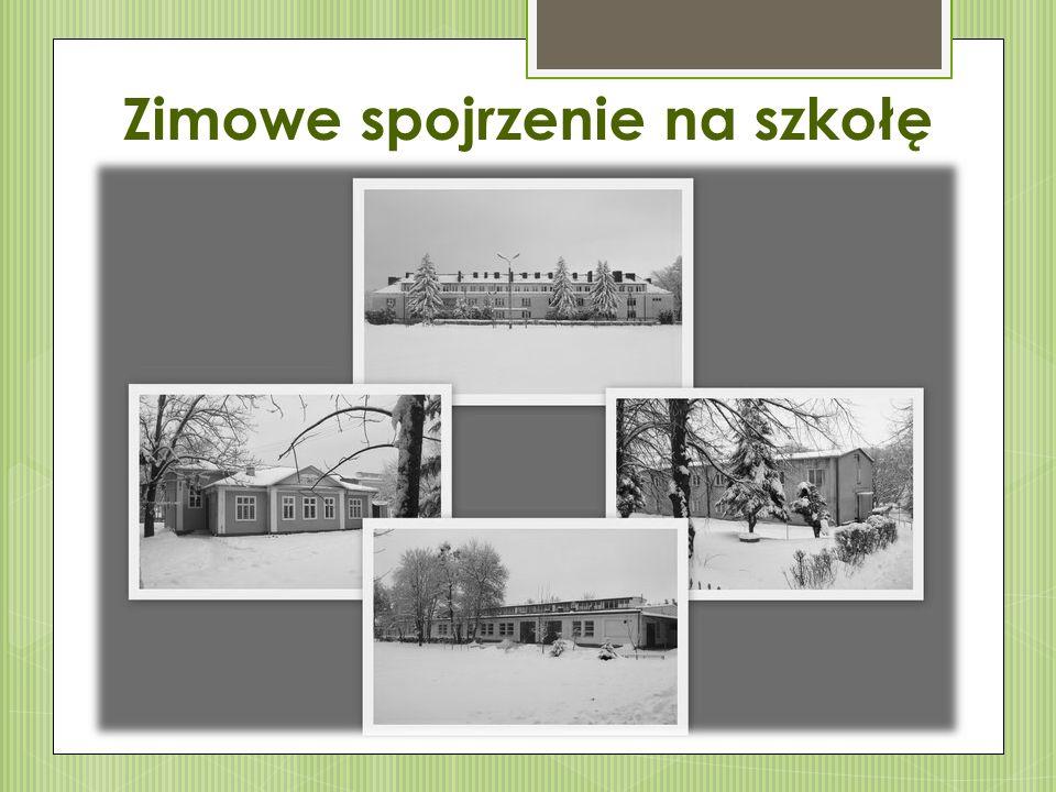 Zimowe spojrzenie na szkołę