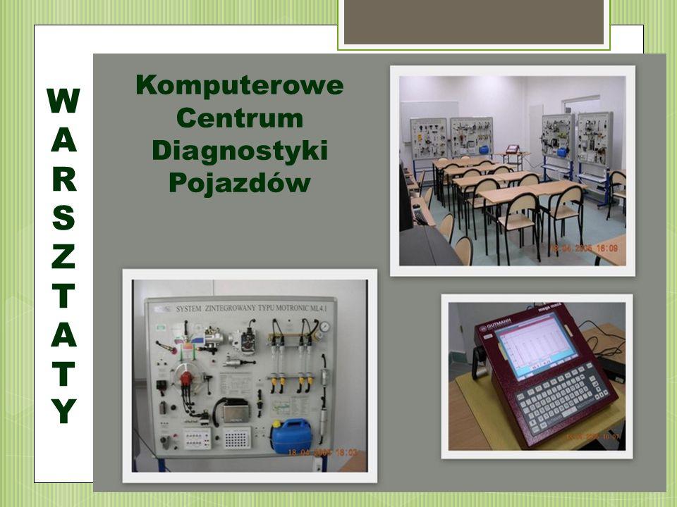 WARSZTATYWARSZTATY Komputerowe Centrum Diagnostyki Pojazdów