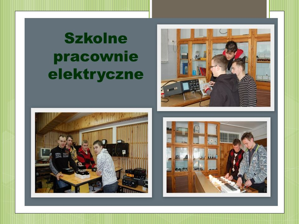 Szkolne pracownie elektryczne