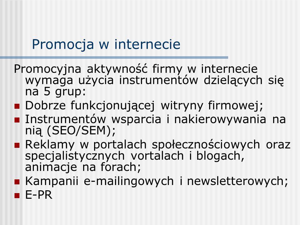 Projektowanie strategii komunikatów promocyjnych - 1 1.
