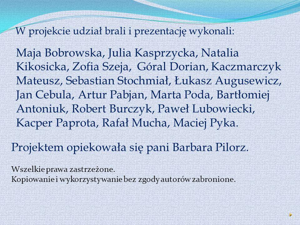 W prezentacji wykorzystaliśmy informacje i zdjęcia dostępne na następujących stronach: → www.pah.org.pl → www.misje-ofm.org.pl → www.wikipedia.pl → ww
