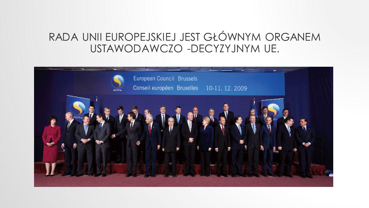 HISTORIA RADY 1 grudnia 2009 r., kiedy wszedł w życie Traktat z Lizbony, Unia Europejska stała się następcą prawnym Wspólnot Europejskich (utworzonych w latach 50.) i przejęła instytucje Wspólnot.