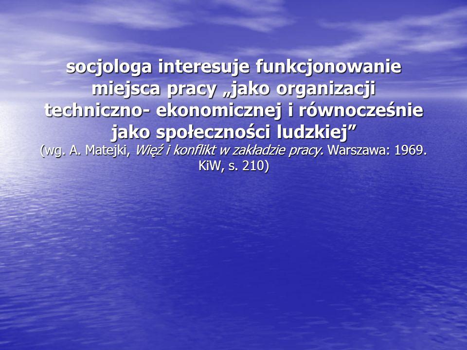 Na dzisiaj Lektura: * Kostera, M.i Zawadzki, M. (2015).