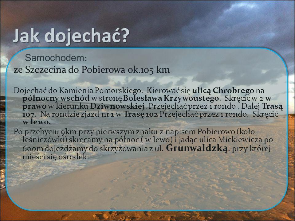 BUS: OBER-TRANS dane z http://www.ober-trans.eu Rozkład jazdy: Odjazdy w kierunku Kamienia Pom.