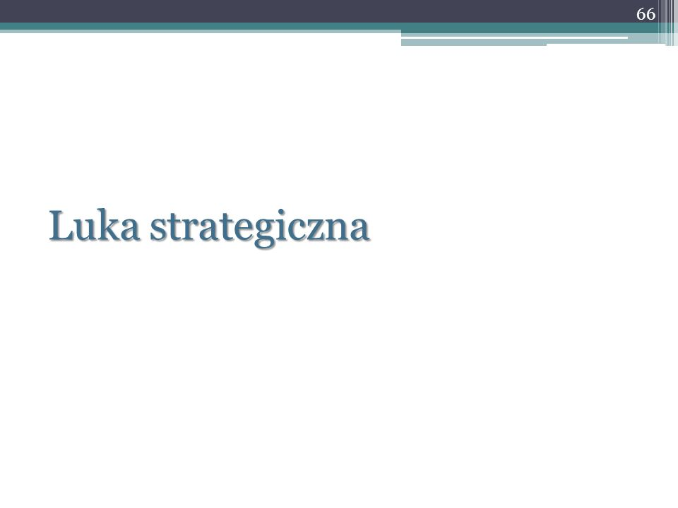 Luka strategiczna 66