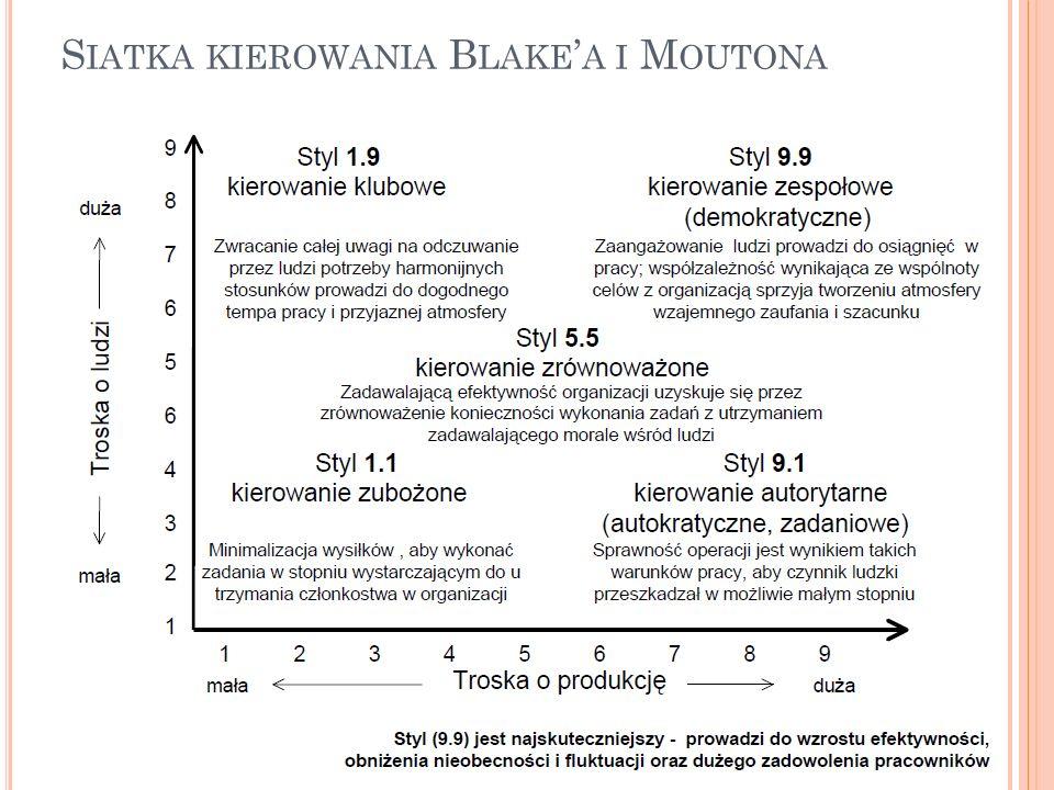 S IATKA KIEROWANIA B LAKE ' A I M OUTONA