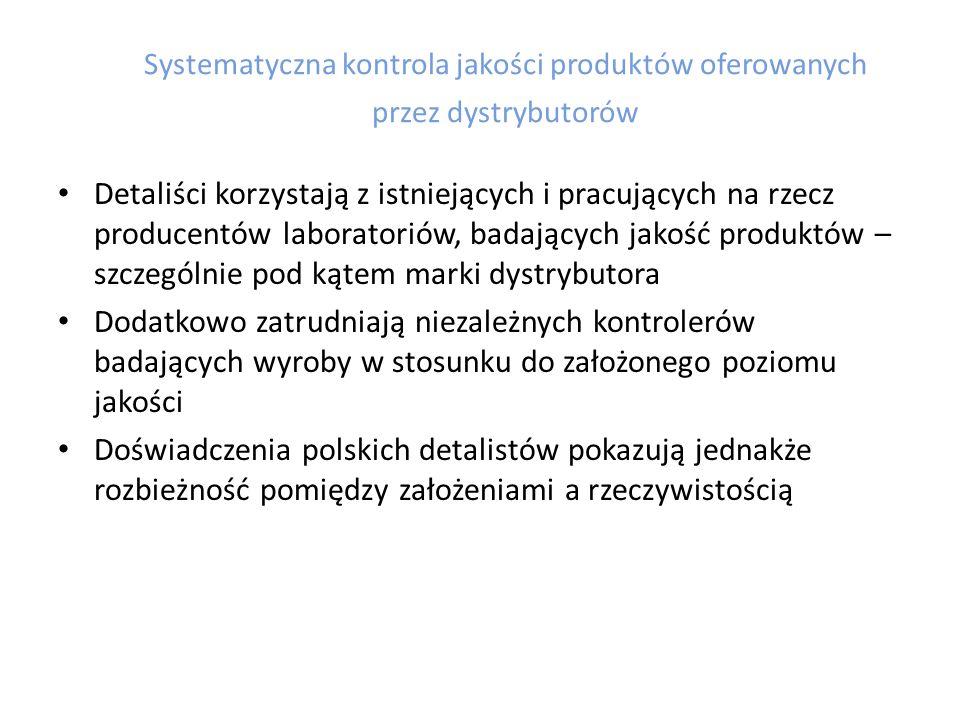 Funkcjonujące na rynku polskim podmioty z kapitałem zagranicznym odegrały istotną rolę w przekształceniach strukturalno-jakościowych sieci handlowych w Polsce.