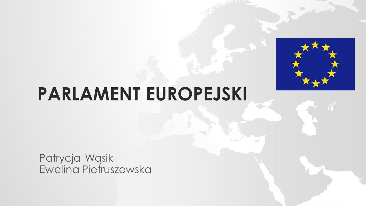 PARLAMENT EUROPEJSKI Patrycja Wąsik Ewelina Pietruszewska