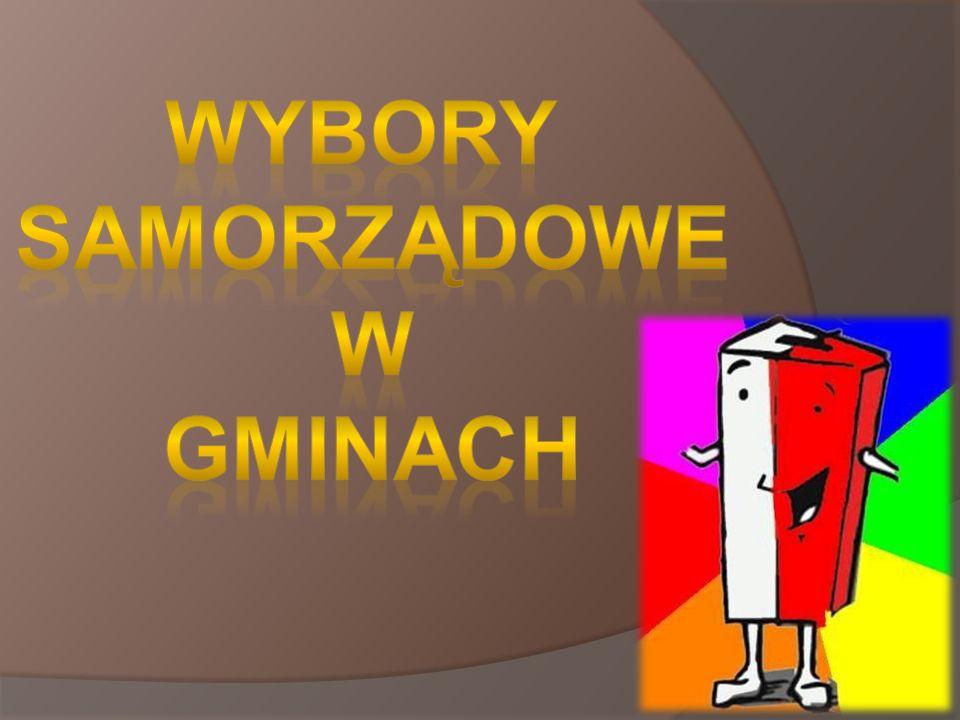 http://pl.wikipedia.org/wiki/Gmina http://www.samorzad.lex.pl/czytaj/-/artykul/system-wyborczy-w- wyborach-samorzadowych-w-gminie-powyzej-20-000-mieszkancow http://www.samorzad.lex.pl/czytaj/-/artykul/system-wyborczy-w- wyborach-samorzadowych-w-gminie-powyzej-20-000-mieszkancow http://www.senat.gov.pl/gfx/senat/pl/senatopracowania/90/plik/ot-578- 2.pdf http://www.senat.gov.pl/gfx/senat/pl/senatopracowania/90/plik/ot-578- 2.pdf http://prawo.rp.pl/artykul/1134787.html http://www.infor.pl/prawo/wybory/samorzadowe/686961,Jak- przebiegaja-wybory-do-rady-gminy.html http://www.infor.pl/prawo/wybory/samorzadowe/686961,Jak- przebiegaja-wybory-do-rady-gminy.html http://portalwiedzy.onet.pl/85920,,,,system_wyborczy,haslo.html http://pl.wikipedia.org/wiki/Gminy_Polski