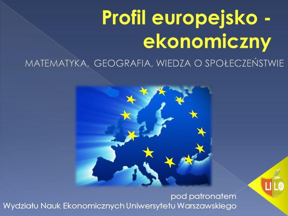 pod patronatem Wydziału Nauk Ekonomicznych Uniwersytetu Warszawskiego