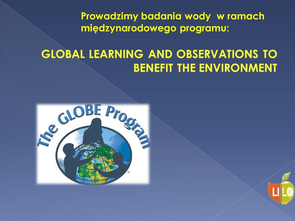 Prowadzimy badania wody w ramach międzynarodowego programu: