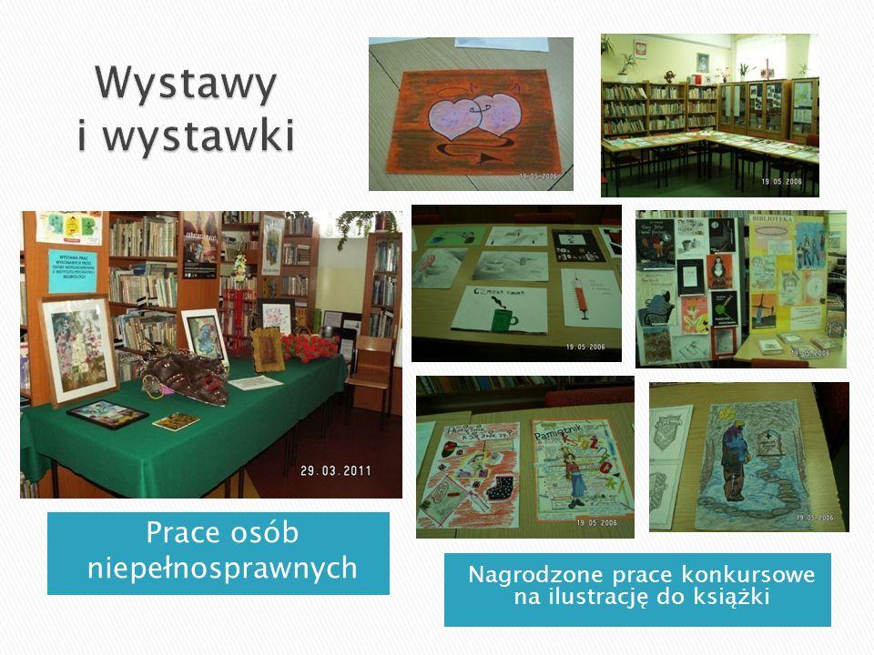 Prace osób niepełnosprawnych Nagrodzone prace konkursowe na ilustrację do książki