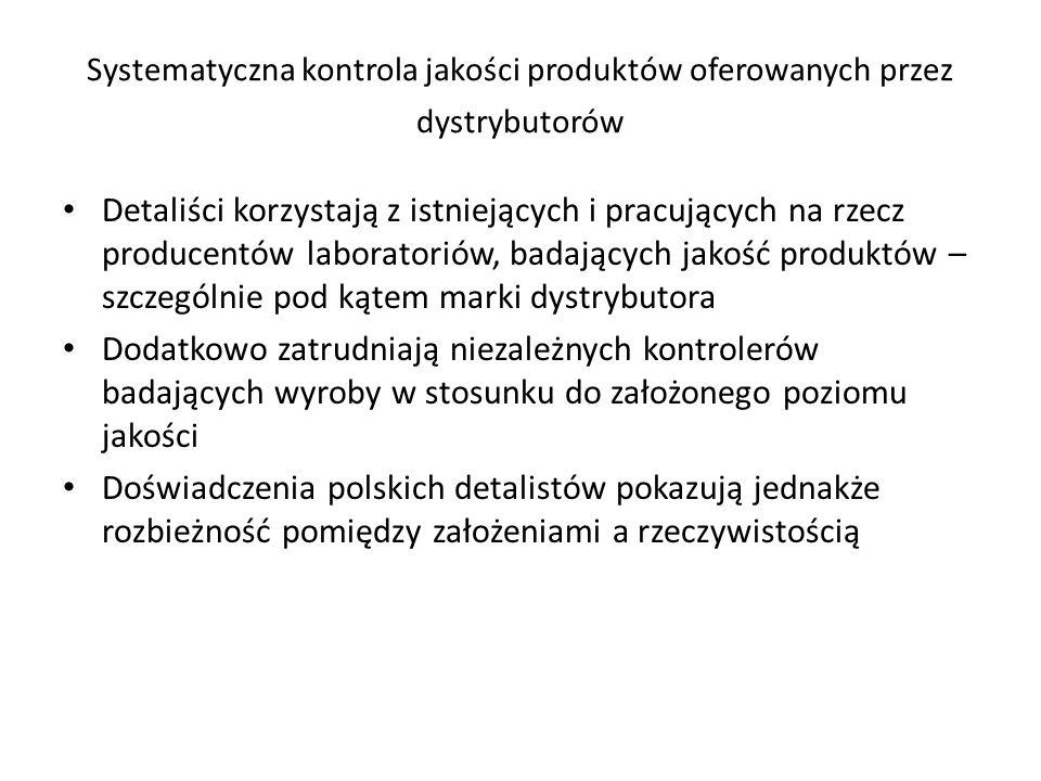 Funkcjonujące na rynku polskim podmioty z kapitałem zagranicznym odegrały istotną rolę w przekształceniach strukturalno-jakościowych sieci handlowych